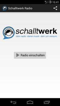 Schalltwerk Radio poster