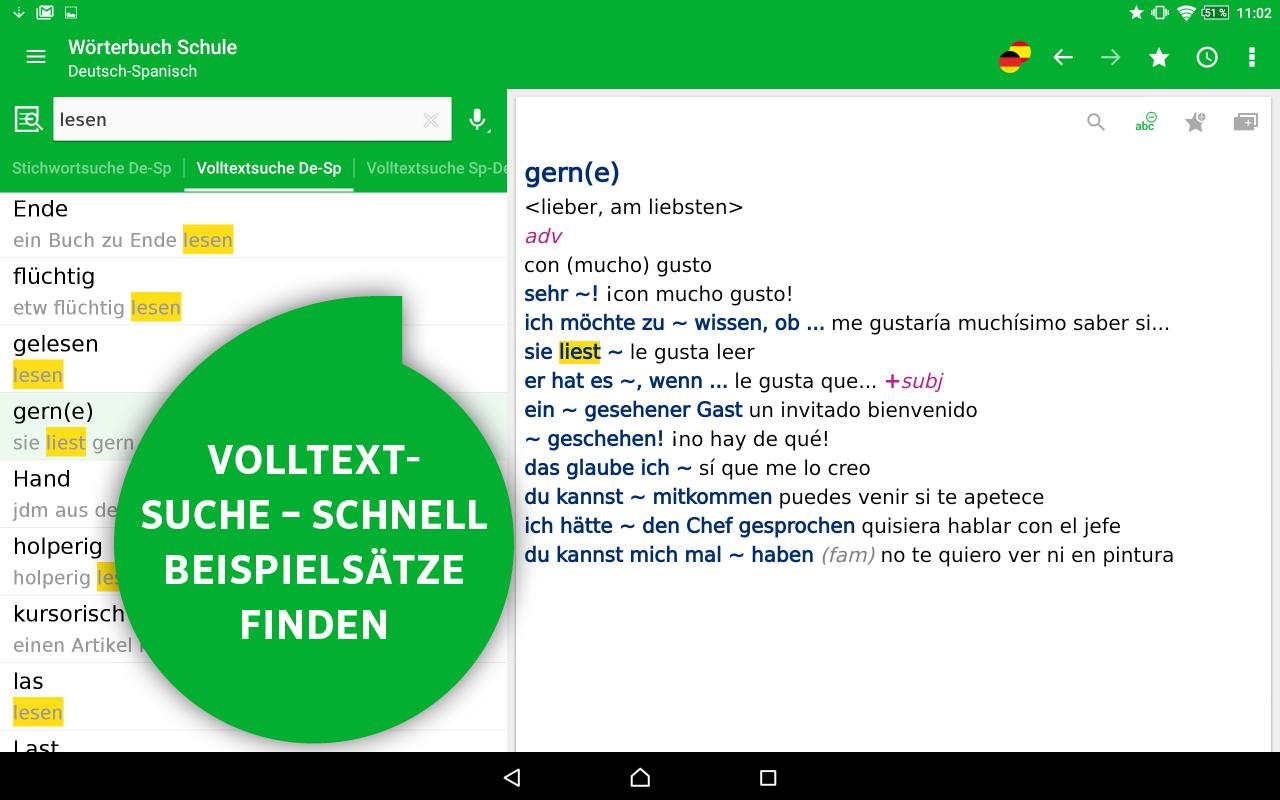 pons französisch deutsch text