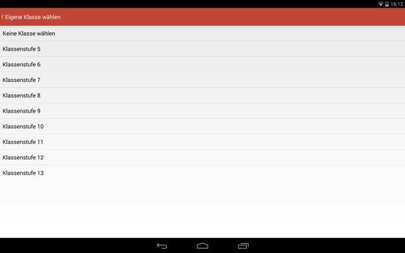 Willigis Vertretungsplan screenshot 6
