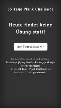 30 Tage - Plank Challenge apk screenshot