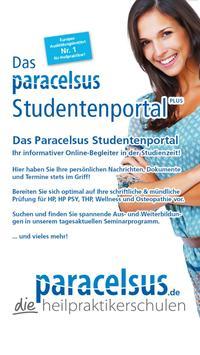 Paracelsus Studentenportal+ poster