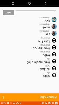 Friendly Chat (Unreleased) apk screenshot