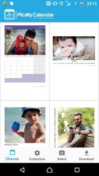 Pically – Free Calendar Maker poster