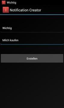 Notification Bar Memo apk screenshot