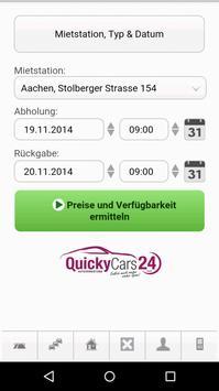 QuickyCars24 apk screenshot