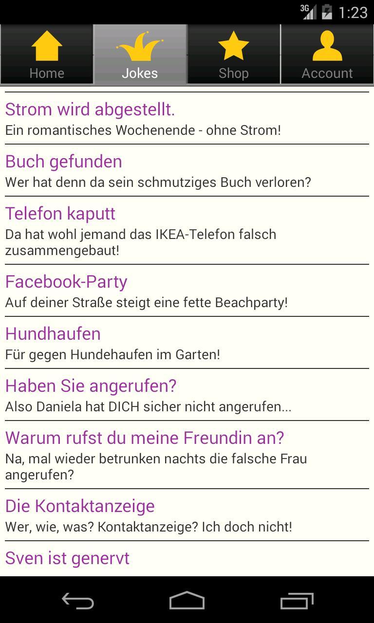 Telefonstreich App