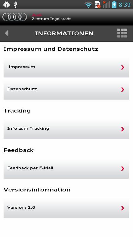 Audi Zentrum Ingolstadt Apk ダウンロード 無料 ビジネス アプリ Android 用