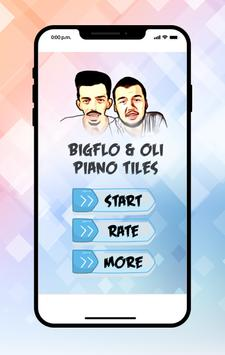 Bigflo & Oli Piano Tiles poster