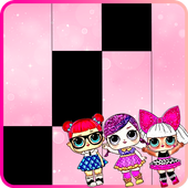 Lol Surprise Dolls And Eggs Piano Tiles icon