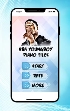 Youngboy NBA Piano Tiles poster