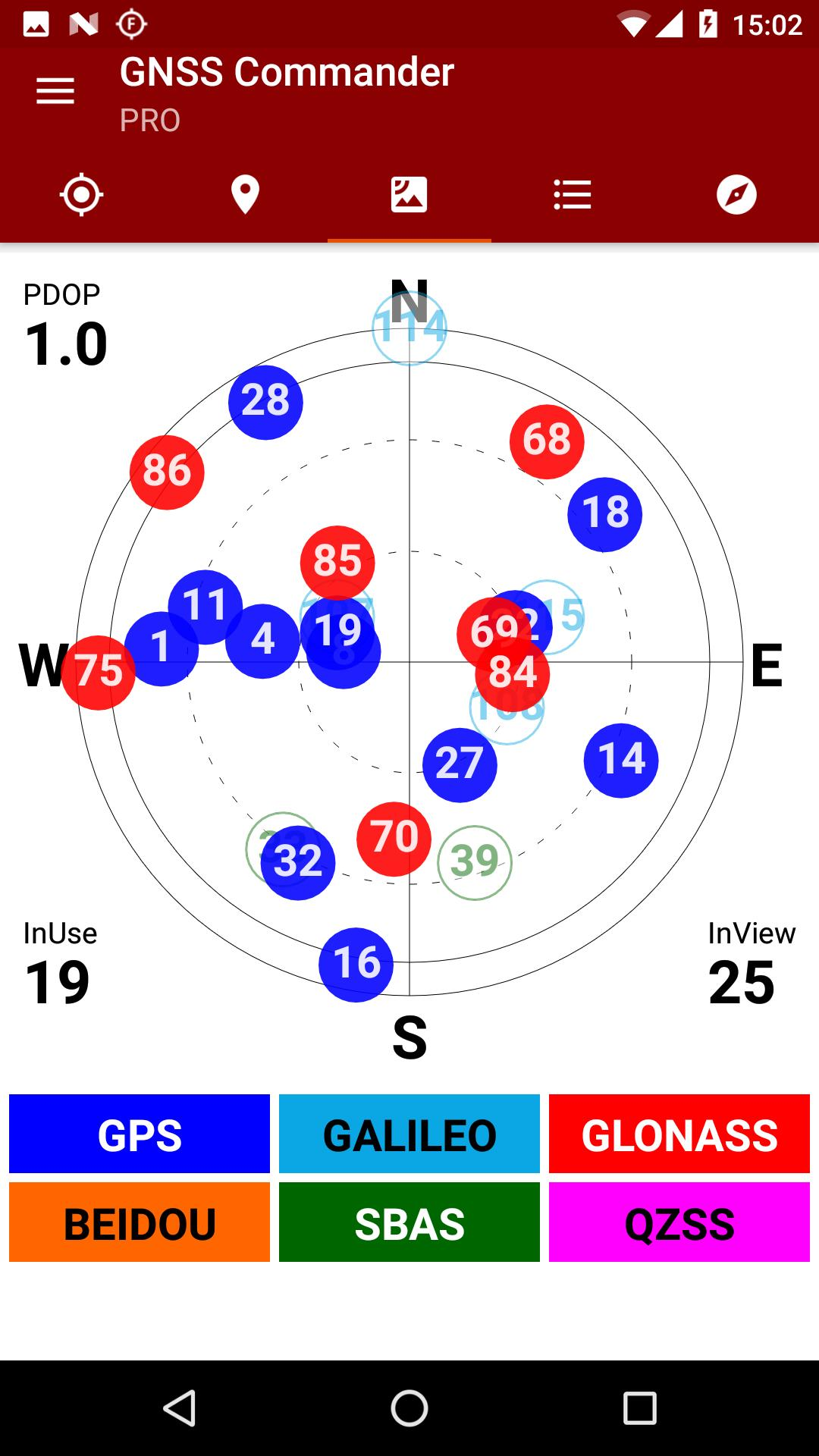 GNSS Commander for Android - APK Download