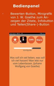 Goethe Zitate Deutsch для андроид скачать Apk