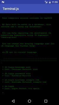 Terminal.js poster
