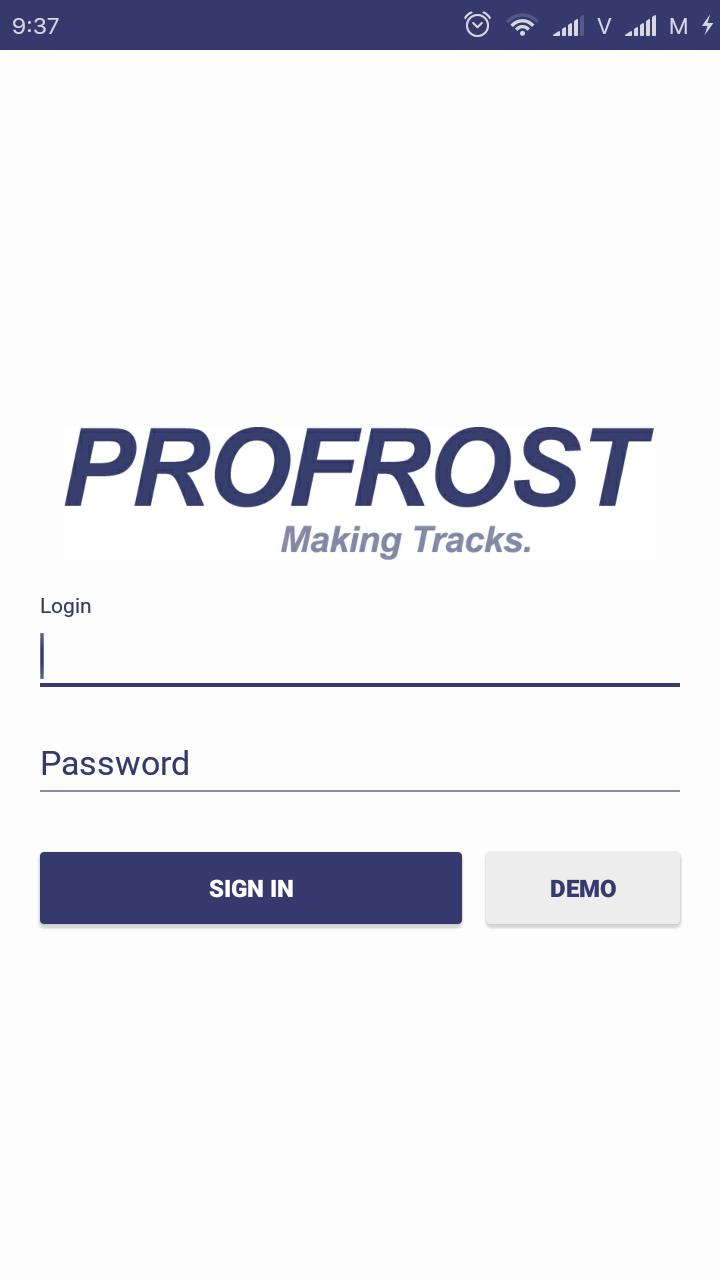 PROFROST Tracking poster