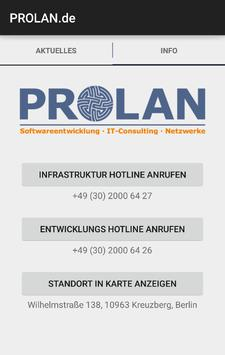 PROLAN.de apk screenshot