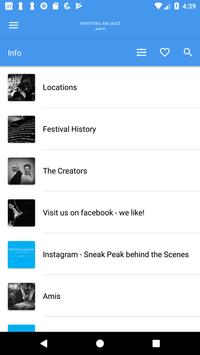 Festival da Jazz screenshot 3