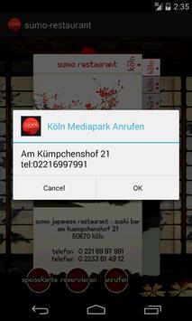 Sumo Restaurant apk screenshot