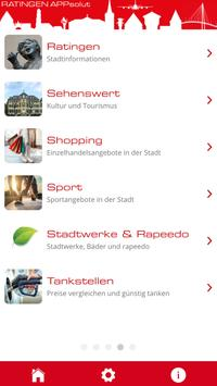 Ratingen - die offizielle App apk screenshot