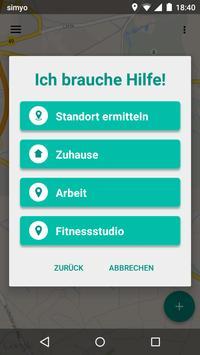 Rot Kreuz Defi und Notruf App Screenshot 4