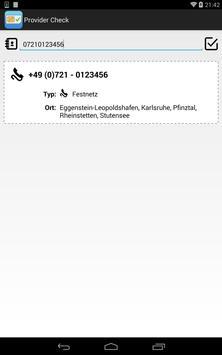 Provider Check apk screenshot