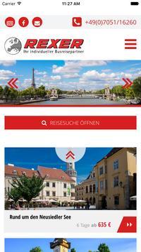 Rexer Reisen poster