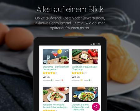 Einfache Rezepte zum Kochen & Backen screenshot 13