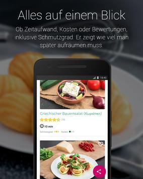 Einfache Rezepte zum Kochen & Backen screenshot 1