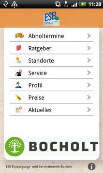 Abfall-App ESB poster