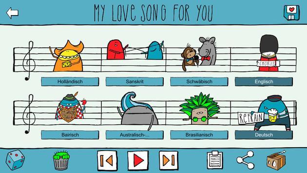 Love Song Creator Free screenshot 3
