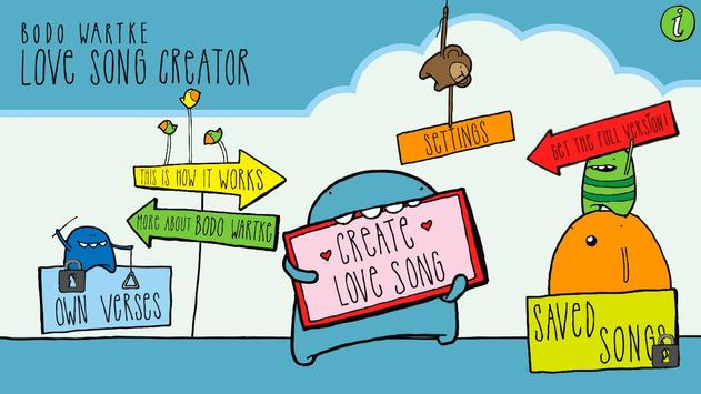 Love Song Creator Free poster