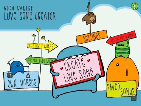 Love Song Creator Free screenshot 10