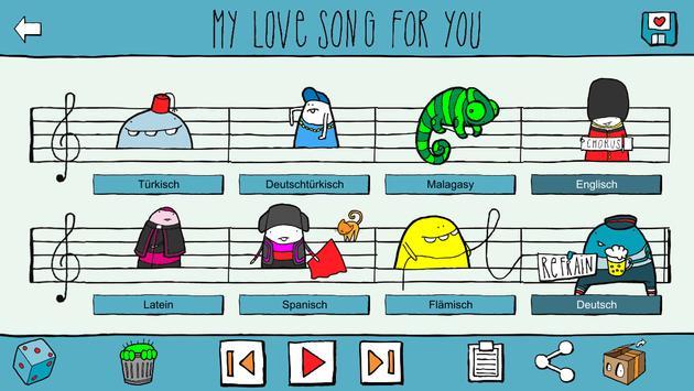 Love Song Creator Free screenshot 4