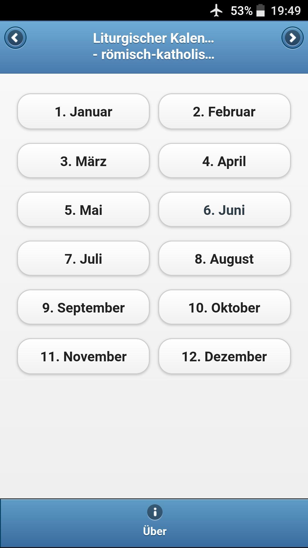 Liturgischer Kalender 2017 poster