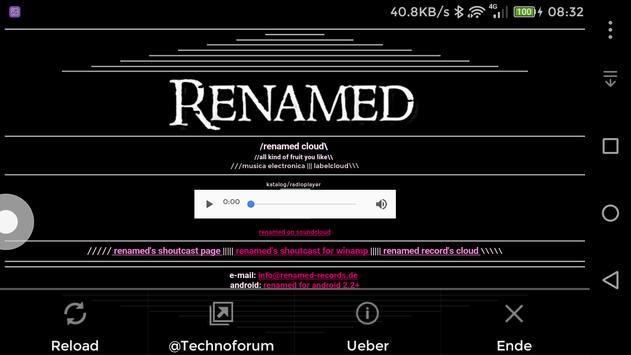 Renamed Records Radio apk screenshot