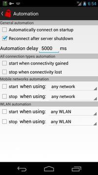 Your Freedom VPN Client apk screenshot