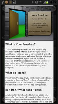 Your Freedom VPN Client poster