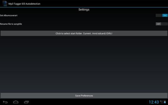 Mp3 Tagger ID3 Autodetection screenshot 3