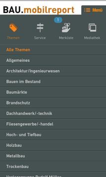 BAU.mobilreport apk screenshot
