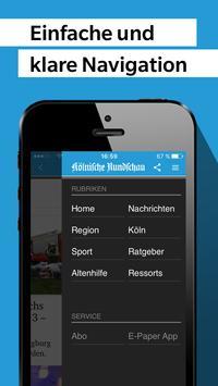 Kölnische Rundschau - News apk screenshot