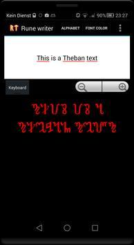 Rune writer screenshot 1
