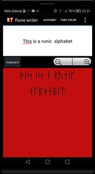 Rune writer screenshot 3