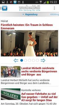 Wochenblatt - Zeitung für Alle poster
