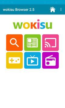 wokisu Browser für Kinder poster