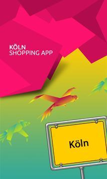 Köln Shopping App poster