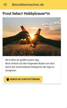 Bier brauen & Bier Rezepte - Die Craftbeer App screenshot 1