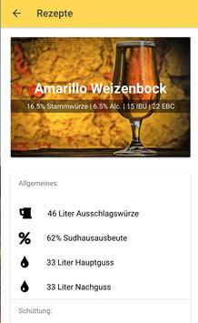 Bier brauen & Bier Rezepte - Die Craftbeer App screenshot 3