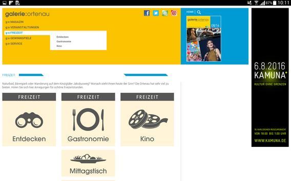 g:o – Ihr Freizeit-Navigator screenshot 5