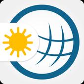 ikon Cuaca & Radar: prakiraan cuaca - weather widget