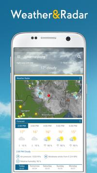 Cuaca & Radar: prakiraan cuaca - weather widget poster