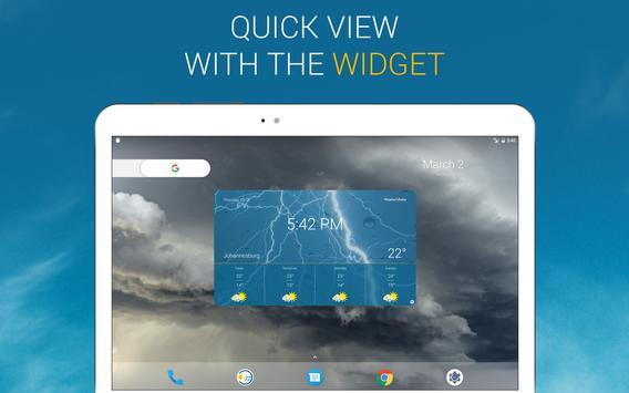 Cuaca & Radar: prakiraan cuaca - weather widget apk screenshot